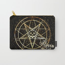 Cult of the Great Pumpkin: Pentagram Carry-All Pouch