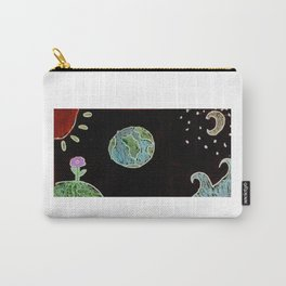 Space Flower Carry-All Pouch