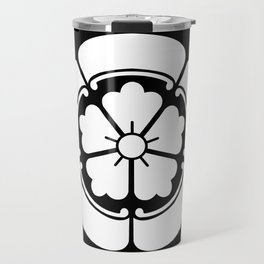 Samurai-Oda family Crest Travel Mug