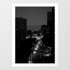 Night Eyes Art Print