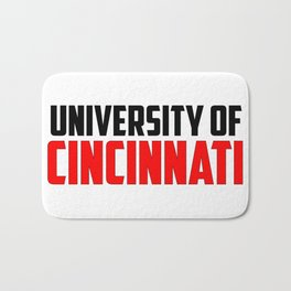 U of Cincinnati, Ohio Bath Mat