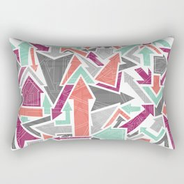 Patterned Arrows Rectangular Pillow
