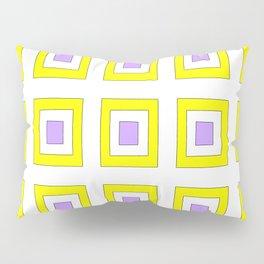 Tribute to mondrian 8- piet,geomtric,geomtrical,abstraction,de  stijl, composition. Pillow Sham