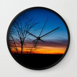 Caledon Sunset Wall Clock