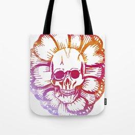 Shaka Skull Tote Bag