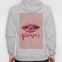 GLAMP it UP! (aka camper with makeup) Hoody