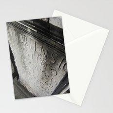 wisdom in stone. Stationery Cards