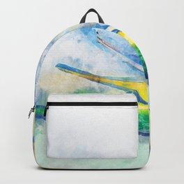 Bird Of Paradise Watercolor Art Backpack