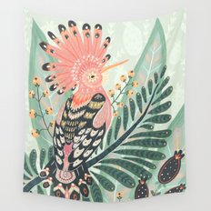 Hoopoe Bird Wall Tapestry