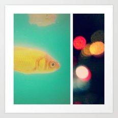 the fish bowl diaries Art Print