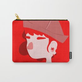 "Color Girl Series: ""Ruby"" Carry-All Pouch"