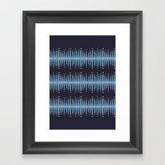 Bleeding Stripes #1 Framed Art Print