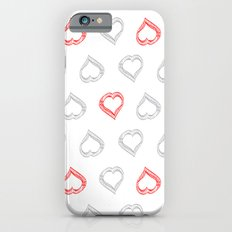 Hearts II iPhone 6s Slim Case