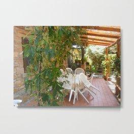 Italian tuscan rustic farmhouse. Metal Print
