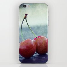 Cherry Kiss iPhone & iPod Skin