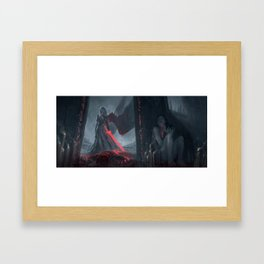 Angel of the Bloodied Dance Framed Art Print