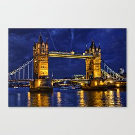 Tower Bridge , London, England, UK Canvas Print