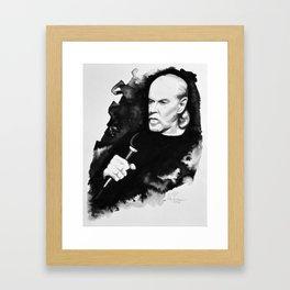 George Carlin Framed Art Print