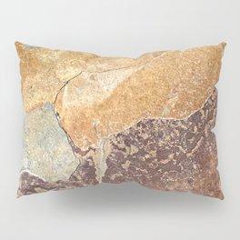 Natural Red Rift Pillow Sham