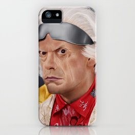 "Emmett ""Doc"" Brown iPhone Case"