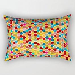Happy bee! Rectangular Pillow
