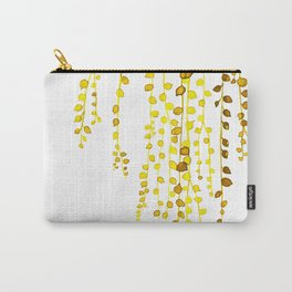 String of pearls #1 in yellow Carry-All Pouch