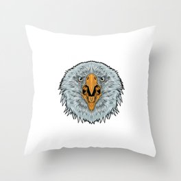 eagle for people who like sensitive savages  Throw Pillow