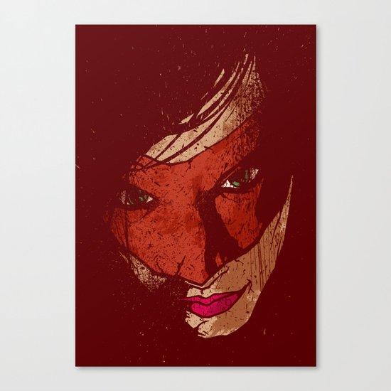Sister Hazard Canvas Print