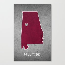 Roll Tide Canvas Print