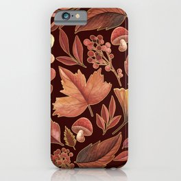 The Winds Of Autumn Have Returned iPhone Case