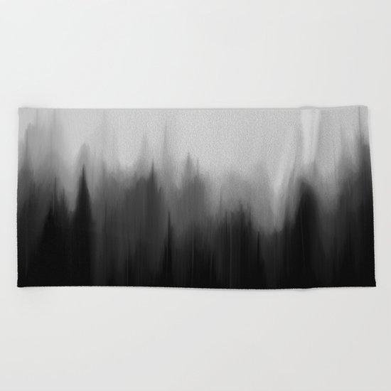 Fog Dream Beach Towel