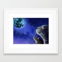 friendship Framed Art Prints featuring Friendship by Mihai Paraschiv