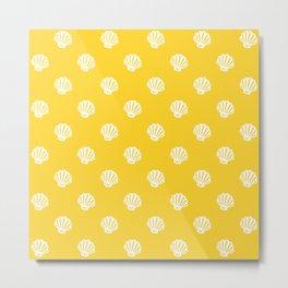 Shell pattern Metal Print