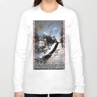 street Long Sleeve T-shirts featuring Street by black door