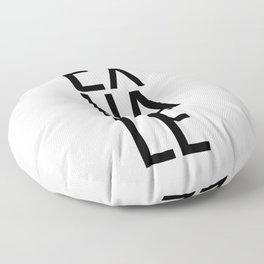 Inhale exhale (1 of 2) Floor Pillow