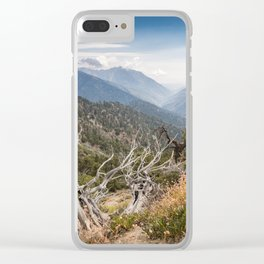 Inspiration Point along Pacific Crest Trail Clear iPhone Case