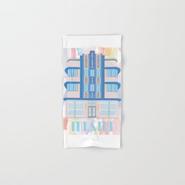 Miami Landmarks - Marlin Hand & Bath Towel