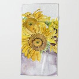 Sun Tea Beach Towel