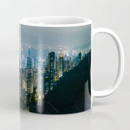 Hong Kong Night Panorama Coffee Mug