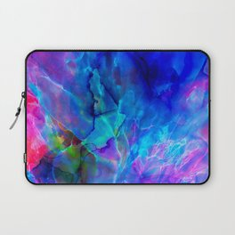 abstract sea waves cb Laptop Sleeve