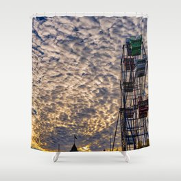Fun Zone Sunrise Shower Curtain