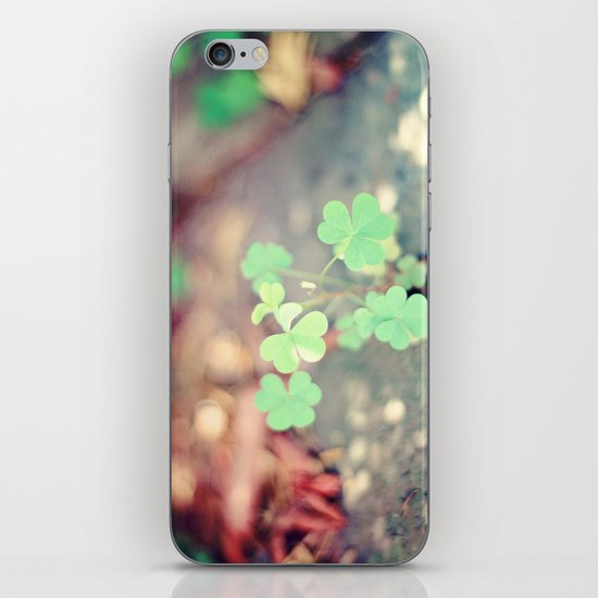 Shamrocks iPhone & iPod Skin