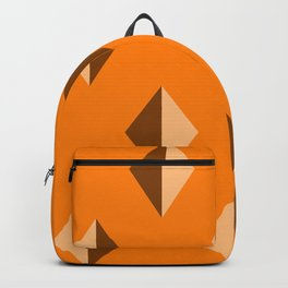 Geometry No. 2 -- Orange Backpack