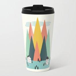 The High Mountains Travel Mug