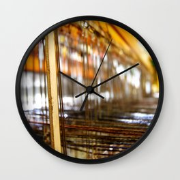 What LOOMS Ahead Wall Clock