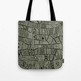 ESHE charcoal mono Tote Bag