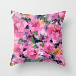 Roses, Roses Throw Pillow