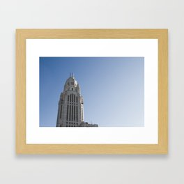 LeVeque Tower Framed Art Print