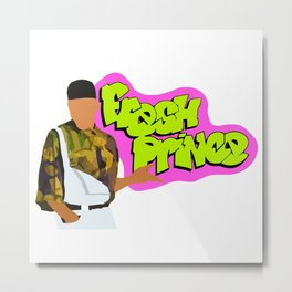 The Fresh Prince of Bel Air tv show Metal Print