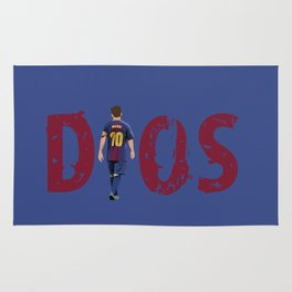 Dios- a tribute to Messi Rug